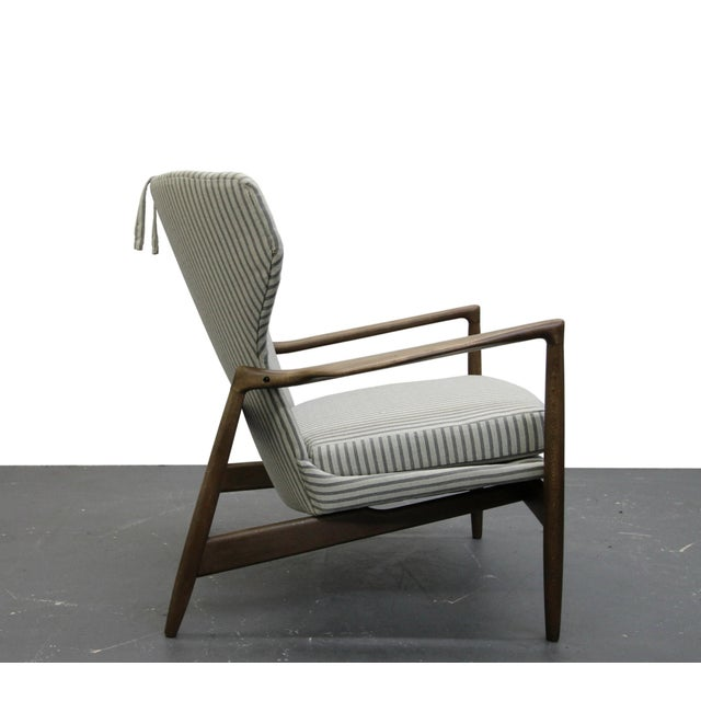 Mid Century Danish Wingback Lounge Chair by IB Kofod-Larsen - Image 4 of 9