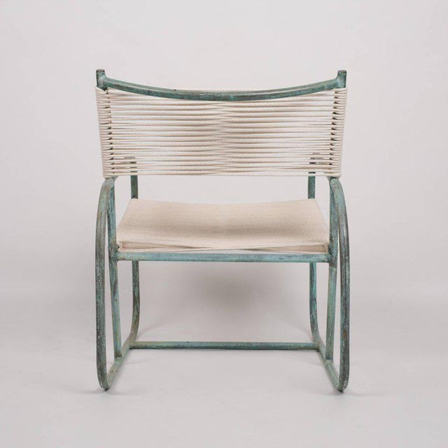 Brown Jordan Early Model Walter Lamb Lounge Chair For Sale - Image 4 of 9