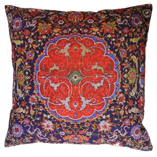 Decorative Persian Accent Pillow For Sale