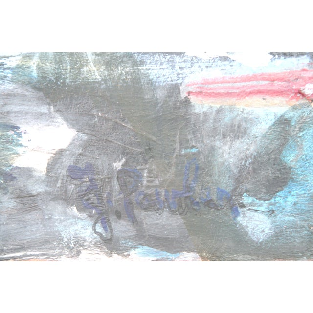 J. Pawlan Mixed Media Abstract Painting - Image 2 of 4
