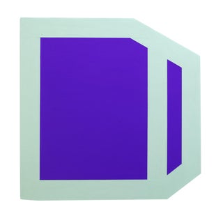 "Brent Hallard ""Plumb Purple (mint)"", Painting For Sale"