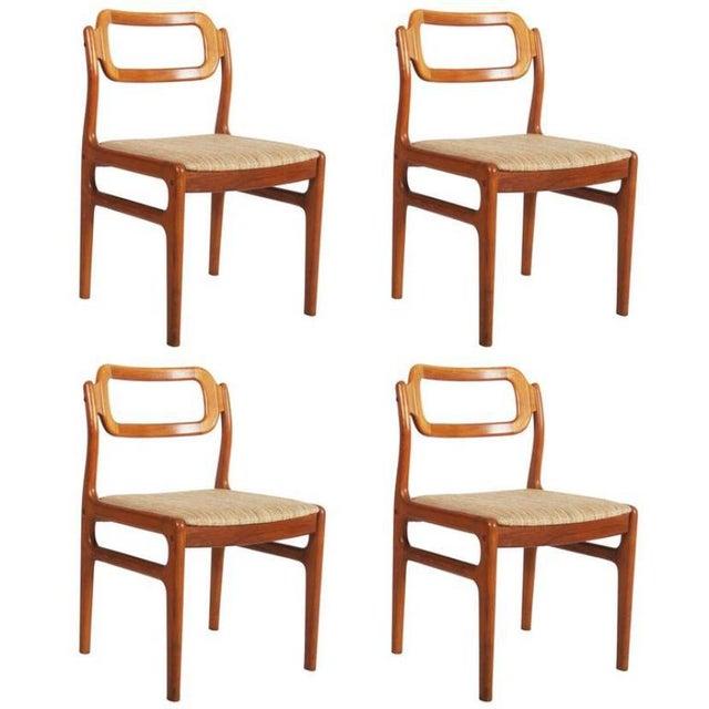Danish Teak Chairs by Uldum Møbelfabrik, 1960s - Set of 4 For Sale - Image 11 of 11