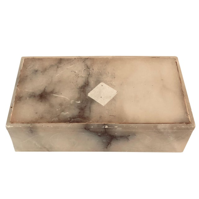 1930s Italian 1930s Alabaster Box For Sale - Image 5 of 5