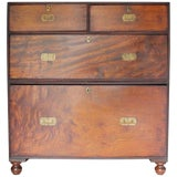 Image of 19th Century Campaign Chest For Sale