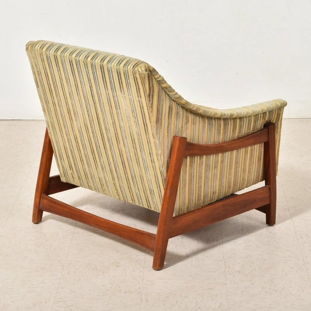 Folke Ohlsson Dux Inc. By Folke Ohlsson Glider Lounge Chair For Sale - Image 4 of 6