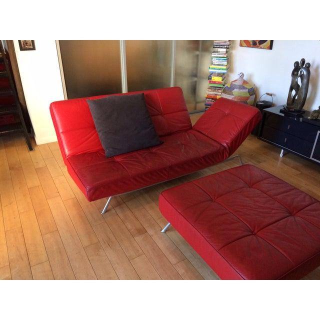 "Ligne Roset Ligne Roset ""Smala"" Sofa Set & Pillows - Set of 3 For Sale - Image 4 of 8"