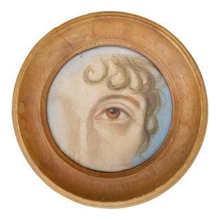 Miniature Lovers Eye Portrait For Sale