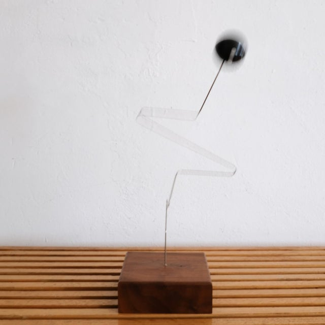 Kinetic Sculpture by Donald Max Engelman, 1960s For Sale - Image 4 of 8