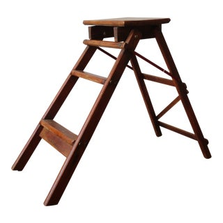 Antique English Traditional Ladder For Sale