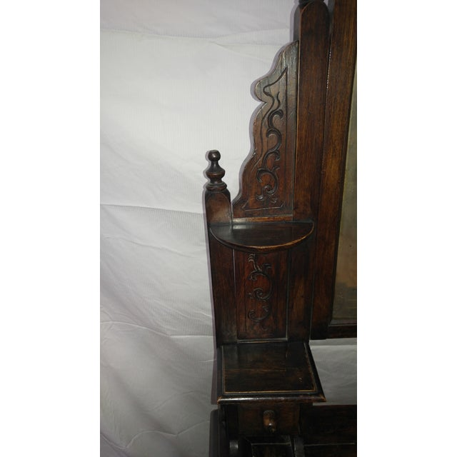 20th Century British Colonial Rose Wood Vanity For Sale In Los Angeles - Image 6 of 10