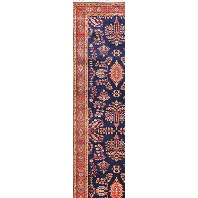 Traditional Pasargad Sarouk Runner - 2′7″ × 11′6″ - Image 2 of 2