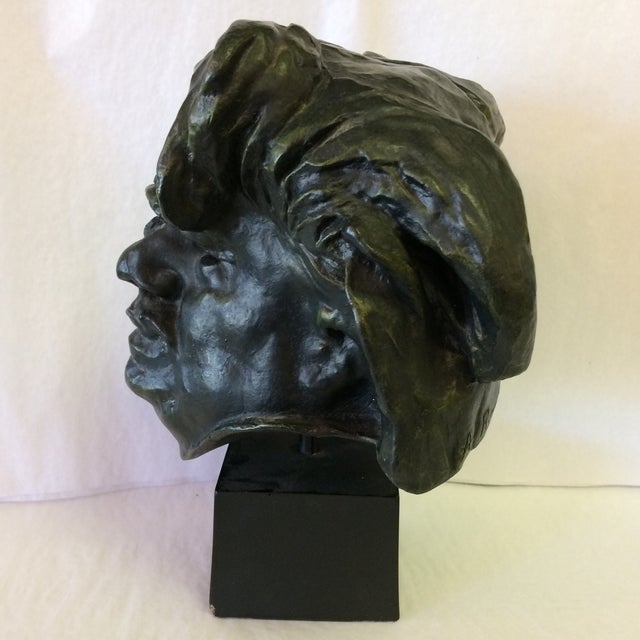 Brutalist Bust Of De Balzac by A. Rodin For Sale - Image 3 of 11