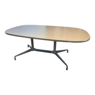 1980s Herman Miller Conference Table For Sale