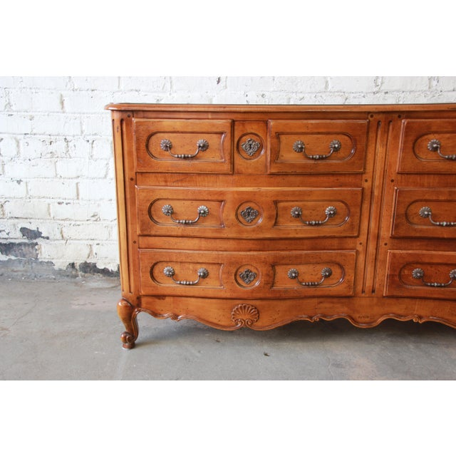 Pierre Deux French Country Double Dresser by Henredon For Sale - Image 5 of 11