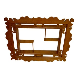 American Edwardian Cherry Wall Shelf For Sale