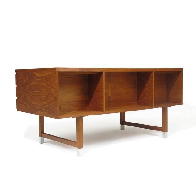 Feldballes Møbelfabrik Kai Kristiansen Teak Desk For Sale - Image 4 of 5