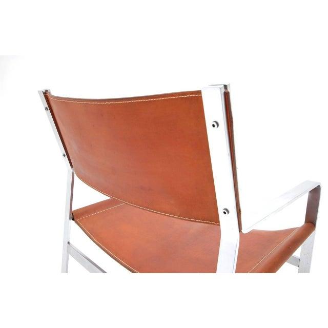 Mid-Century Modern Pair of Hans Wegner Chairs for Johannes Hansen For Sale - Image 3 of 6