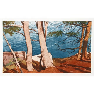 Tony Rosati Aquatint Etching - Tyler Lake