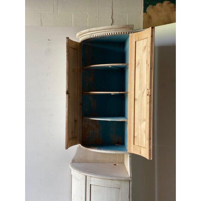 Antique Gustavian Corner Cabinet For Sale - Image 4 of 13
