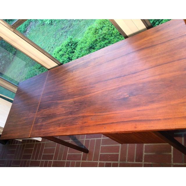 1960s Vintage Danish Modern Arne Vodder Desk For Sale - Image 6 of 9