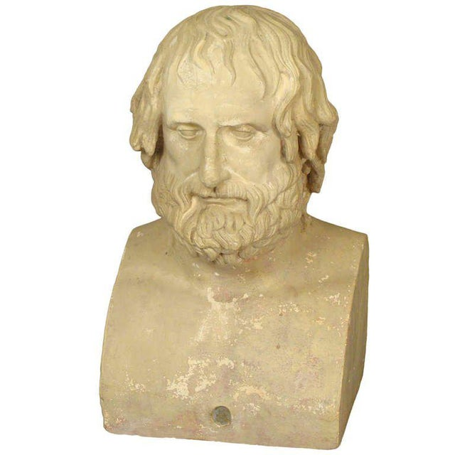 Composition Bust of Euripides - Image 11 of 11