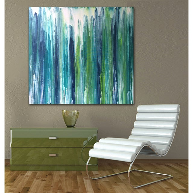 'Waterfall' Abstract Painting by Linnea Heide For Sale - Image 7 of 7
