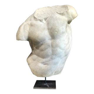 Gladiatore Borghese, Plaster Bust, Copy in Scale 1/1 For Sale