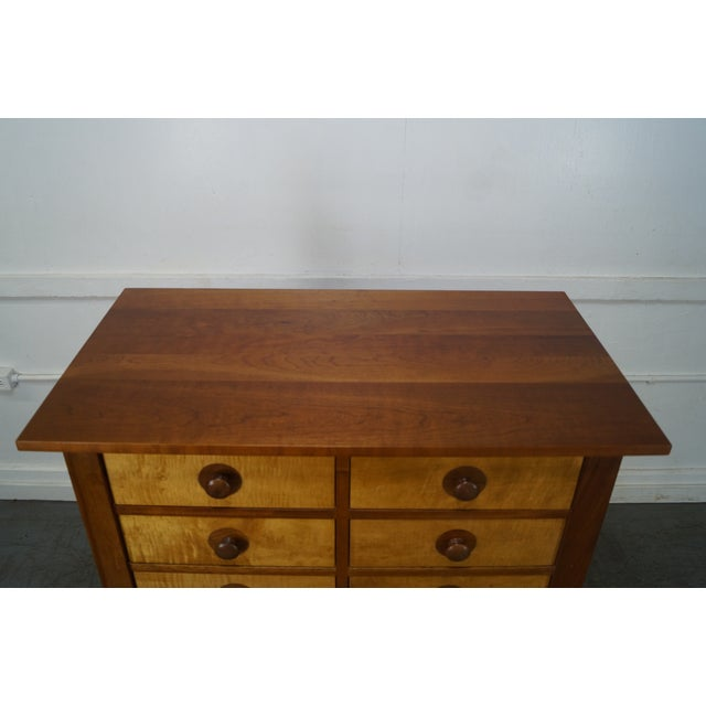 Stickley Mission Oak Collection Harvey Ellis Tall Chest - Image 8 of 10