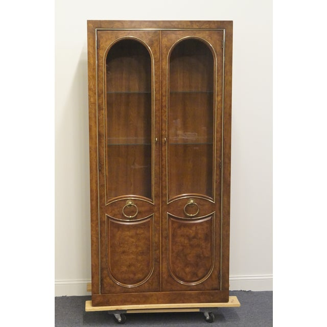 "Weiman mid century modern 37"" lighted display cabinet / Wall unit. We specialize in high end used furniture that we..."
