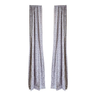 """Pepper Haworth 50"""" x 108"""" Curtains - 2 Panels For Sale"""