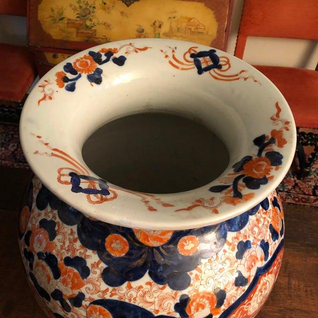 Late 19th Century Large 19th Century Japanese Imari Palace Vase For Sale - Image 5 of 13