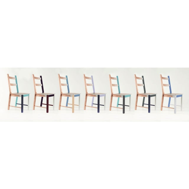 2010s Misplaced, Hand-Painted Chair by Atelier Miru For Sale - Image 5 of 6