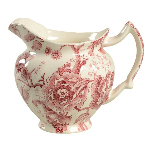 Johnson Brothers English Chippendale 32 Oz Pitcher For Sale