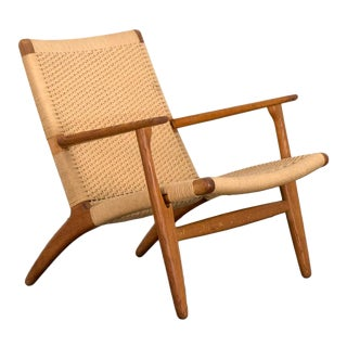 Hans J. Wegner CH-25 Armchair For Sale