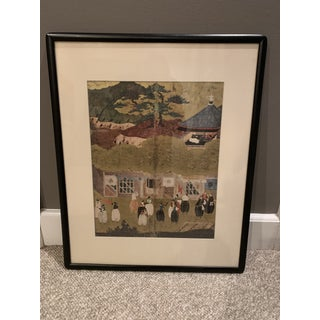Mid-century Asian Framed Prints - a Pair Preview