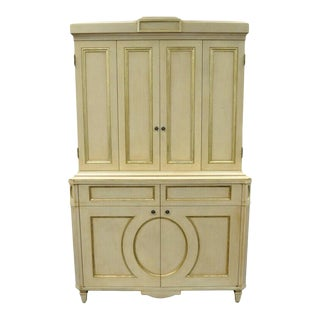 Directoire Neoclassical Style Cabinet by Decca B For Sale
