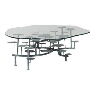 Silas Seandel Bronze Coffee Table For Sale