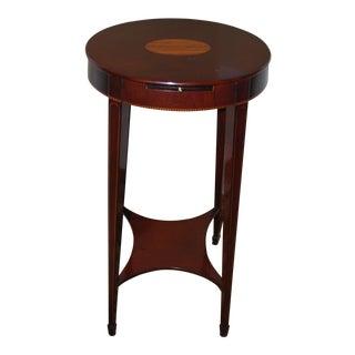 Traditional Winterthur Massachusetts Kettle Table For Sale
