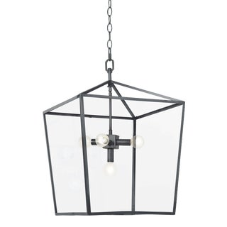 Camden Lantern in Oil Rubbed Bronze For Sale