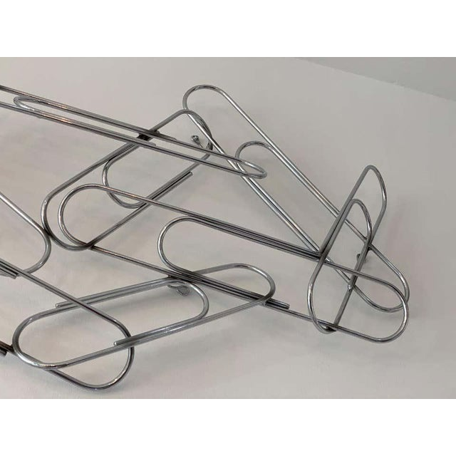 Wall Sculpture of Paper Clips by Curtis Jere For Sale In West Palm - Image 6 of 11