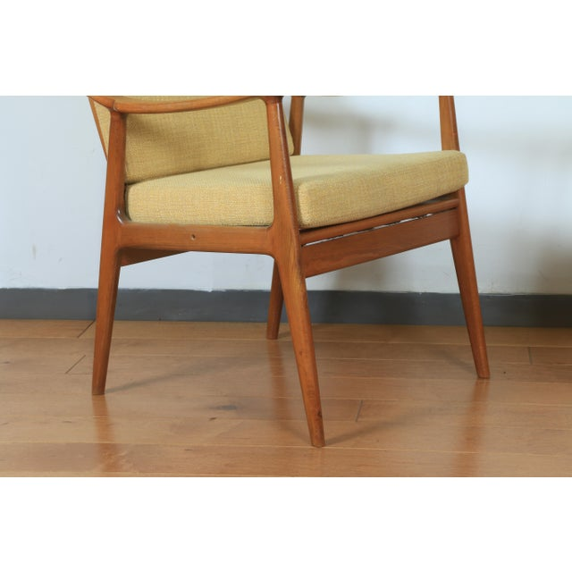 Wood 1960s Yugoslavia Yellow Side Chairs For Sale - Image 7 of 8