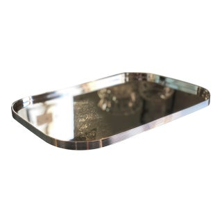 Christofle K+T Collection Silverplated Square Tray For Sale
