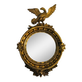 19th Century Bullseye Mirror For Sale