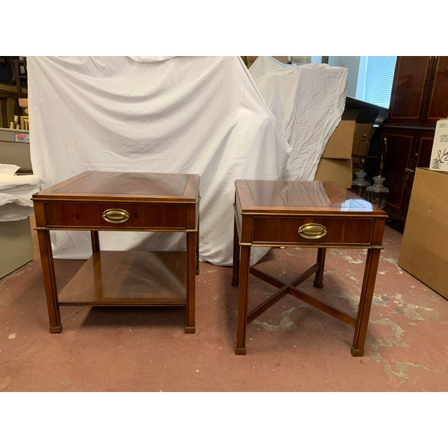 Brown Georgian Gordon's Mahogany Side Tables - a Pair For Sale - Image 8 of 8