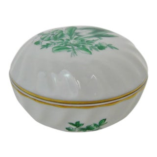 Herend Porcelain Petit Container For Sale
