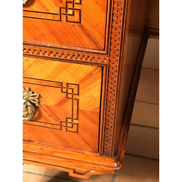 Brown 18th Century Louis XVI Dressing Table/Vanity, South Germany For Sale - Image 8 of 13