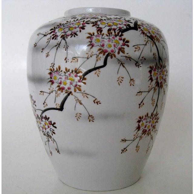 Vintage Japanese Porcelain Vase Chairish