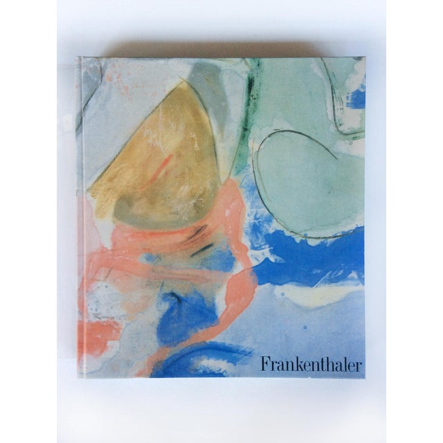 A first edition monograph of luminous paintings by the American abstract-expressionist artist Helen Frankenthaler...