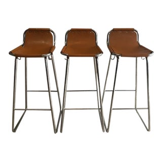 Bar Stools With Purse Hook - Set of 3 For Sale