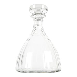 1960s Acid Etched Baccarat Decanter For Sale